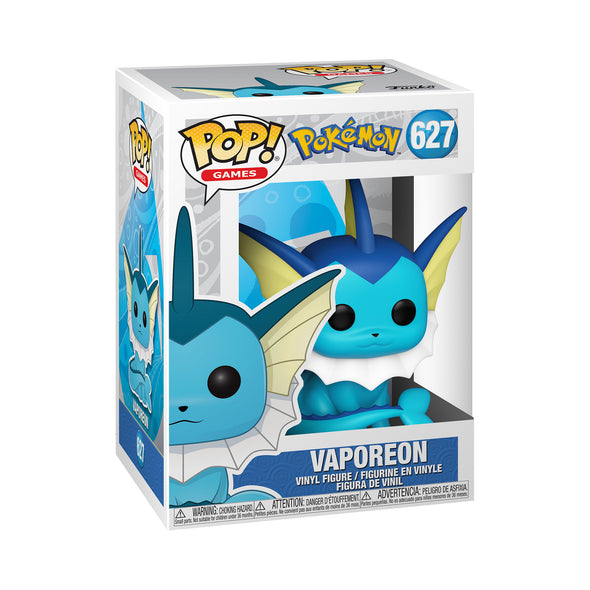 FUNKO POP! GAMES: Pokemon- Vaporeon - Gamer's Town