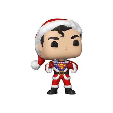 DC Holiday Superman with Sweater Pop! Vinyl Figure - Gamer's Town