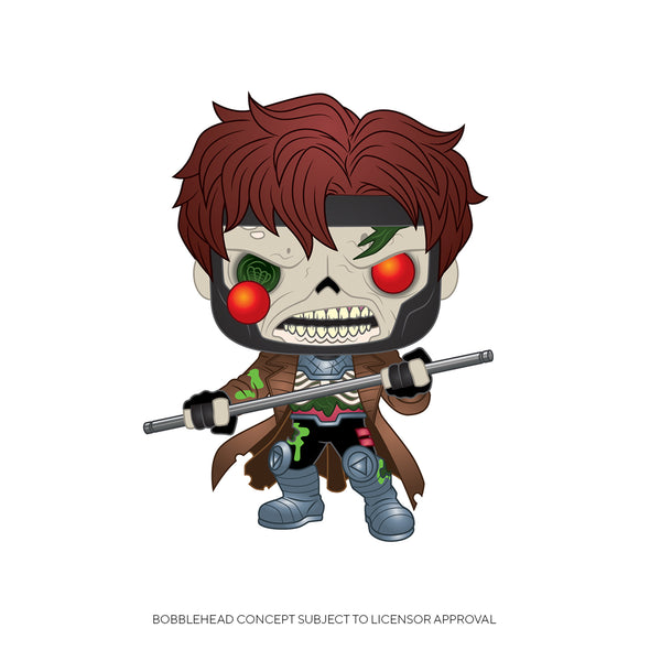 FUNKO POP! MARVEL: Marvel Zombies - Gambit - Gamer's Town