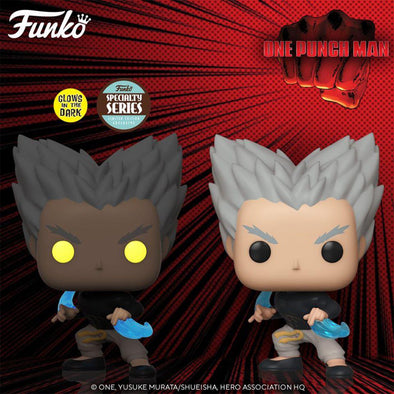 One Punch Man Garou Flowing Water Glow-in-the-Dark Pop! Vinyl Figure - Specialty Series - Gamer's Town