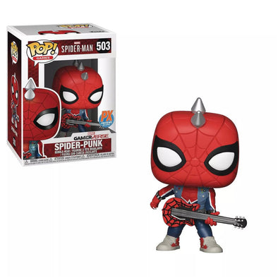 Spider-Man Video Game Spider-Punk Pop! Vinyl Figure #503 - Previews Exclusive - Gamer's Town
