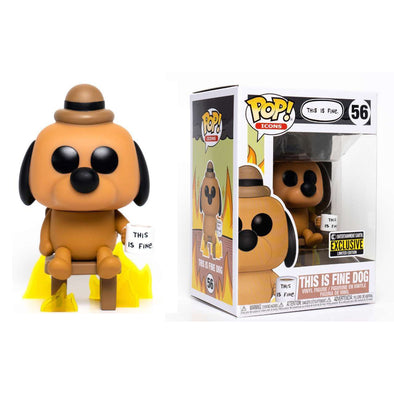 This is Fine Dog Pop! Vinyl Figure - Entertainment Earth Exclusive (Pre-Order) - Gamer's Town
