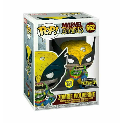 Marvel Zombies Wolverine Glow-in-the-Dark Pop! Vinyl - EE Exclusive