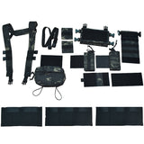 MK3 Tactical Classis Chest Rig Coyote  Multifunctional modular special training belly pocket for Tactical Vest