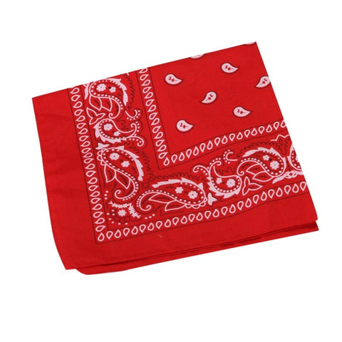Newest Bandanas For Male Female Head Scarf Scarves Wristband Vintage Pocket Towel
