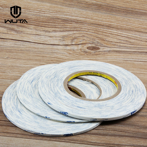 50meter 2/4/5mm Double-sided Tape American 3M 9448 Ultra-thin White Strong Sticky Glue Tape DIY Leathercraft Tools Standard ship