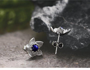Fresh Flower 925 Sterling Silver Earrings