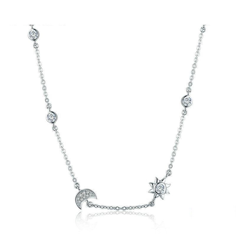 Iris Sterling Silver Necklace