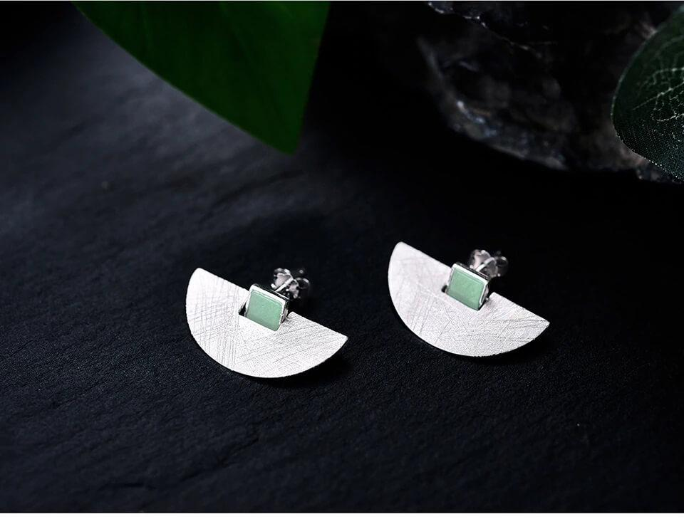Luxury Fashion Silver Earrings