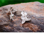 Honey Bee Sterling Silver Earrings