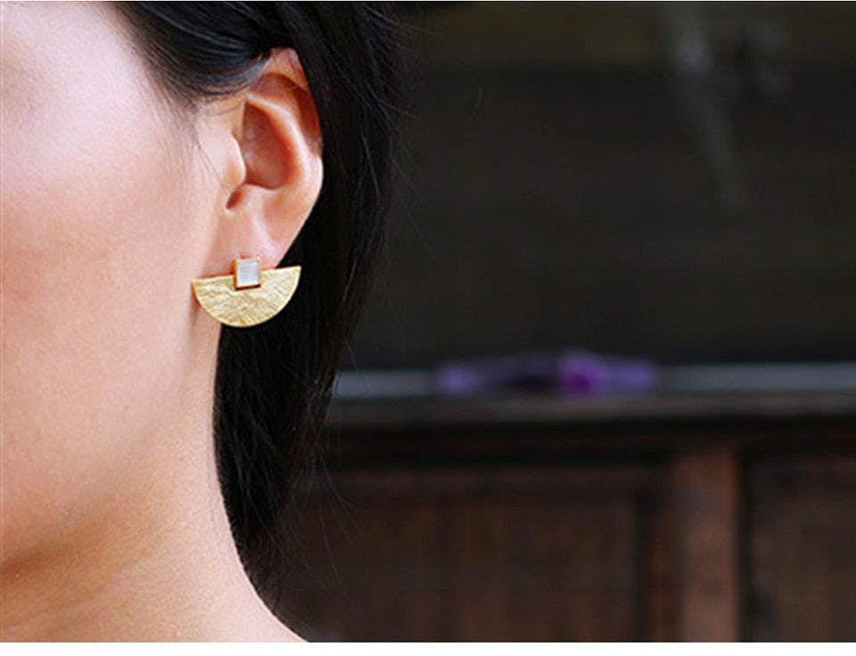 Luxury Fashion Gold Earrings