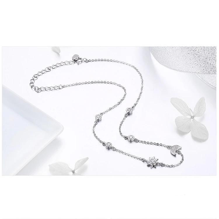 Iris 925 Sterling Silver Necklace