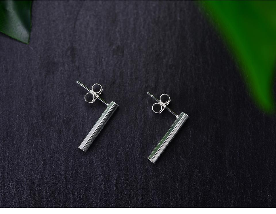 Prism 925 Silver Earrings