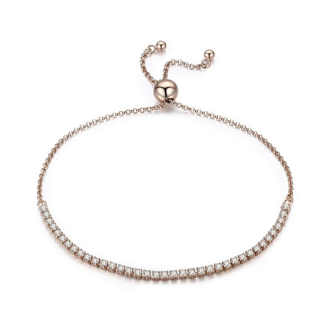 Jolie Rose Gold Tennis Bracelet