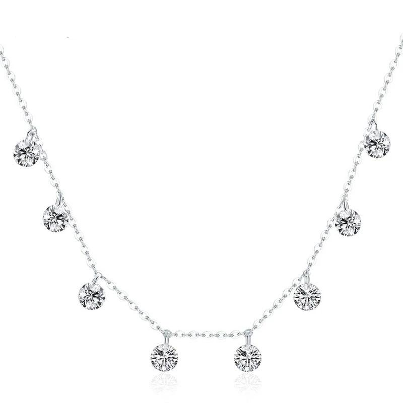 CZ 925 Sterling Silver Necklace