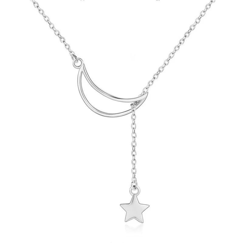 Luna 925 Sterling Silver Pendant Necklace