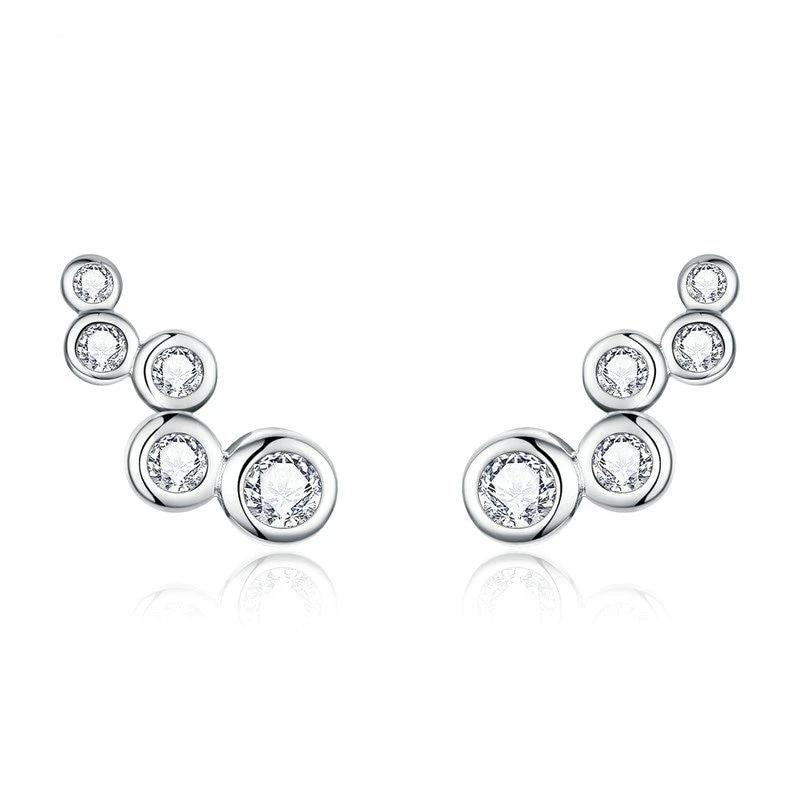 Joy Stud Earrings 925 Sterling Silver