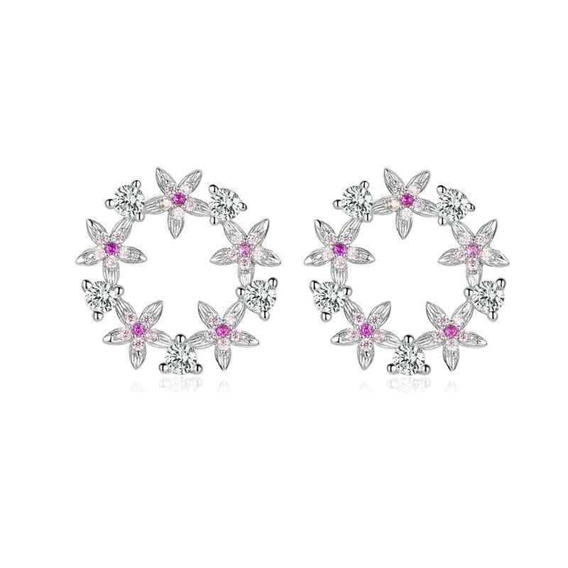 Fairy Flower 925 Sterling Silver Earrings