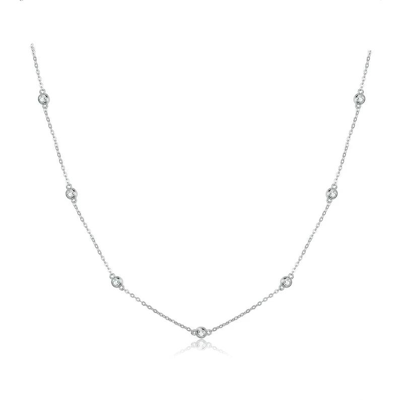 Lena Sterling Silver Necklace