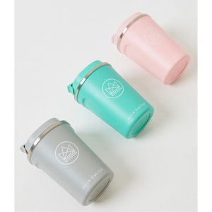 Neon Kactus Reusable Insulated Coffee Cup