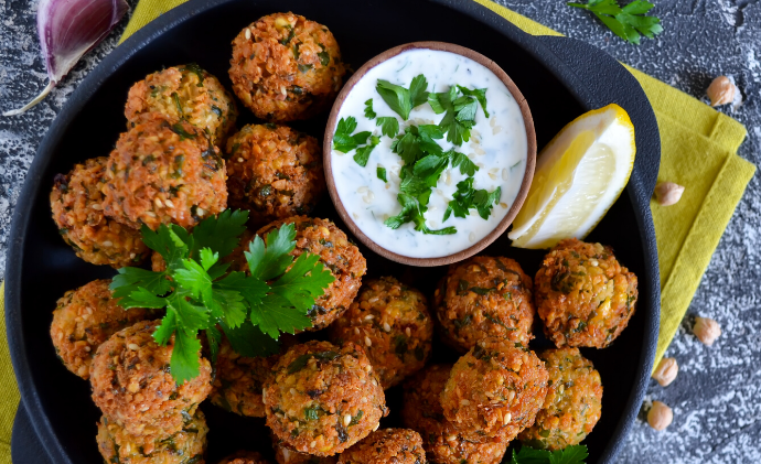 Finch Staples Chef Recipe Challenge - Falafel