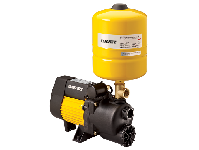 Davey XP35P8 Pressure System with 8L Pressure Tank