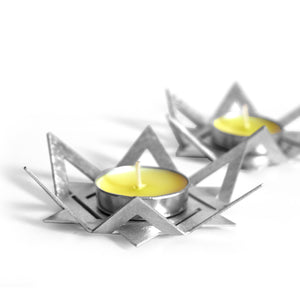 Pair of Shabbos candlesticks