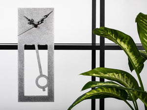 pendulum shelf clocks in silver