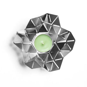 Geometric Nordic tea light holder