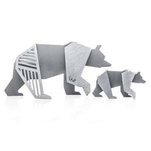 PAPA BEAR & BABY BEAR Figurines
