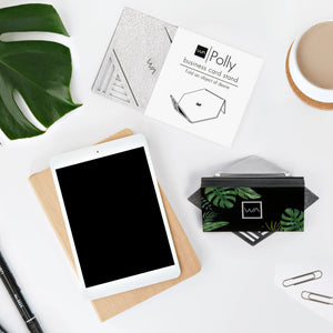 designer modern office desktop flat lay