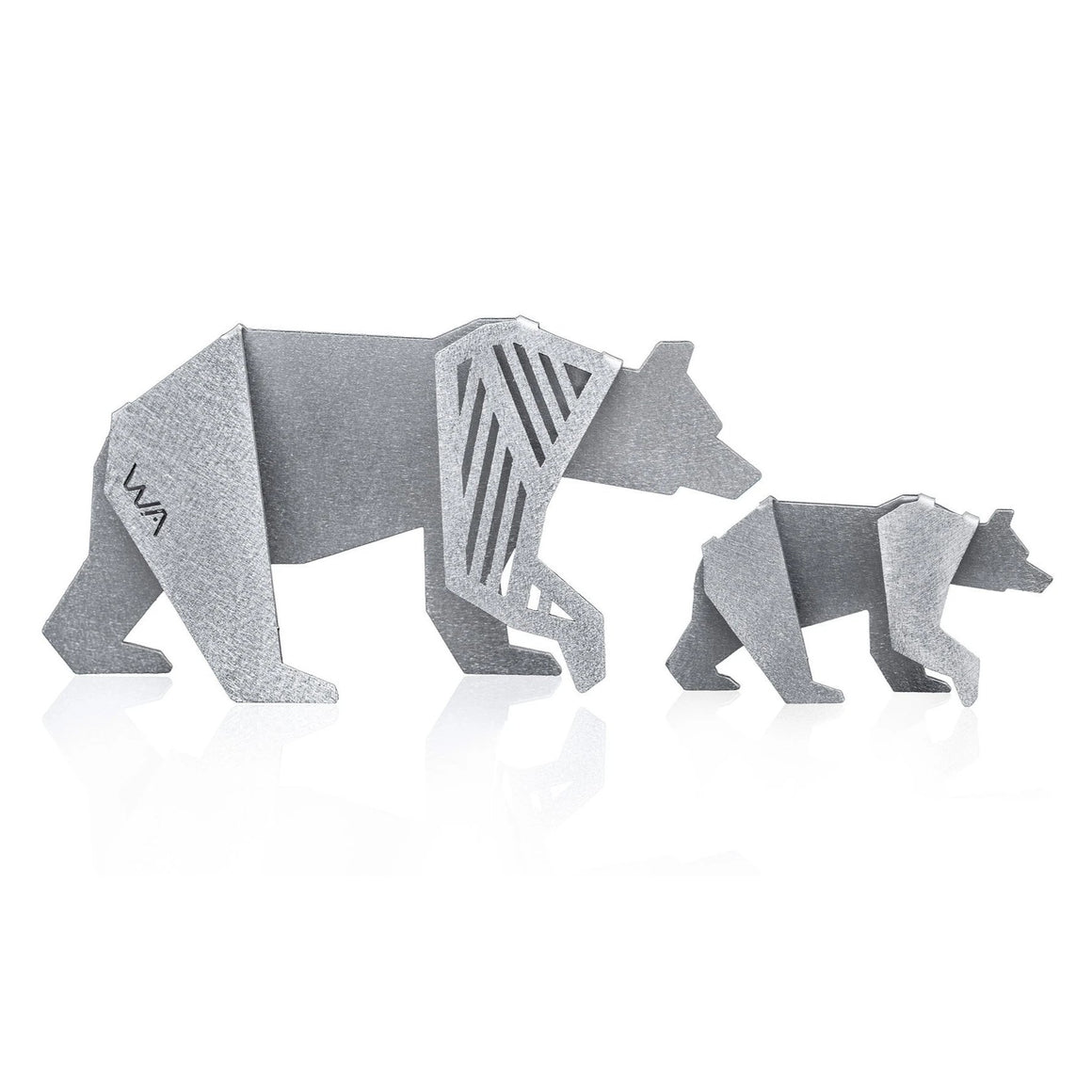 MAMA BEAR & BABY BEAR Figurines
