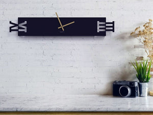 LONG TIME - Unique XXL Oversize Clock