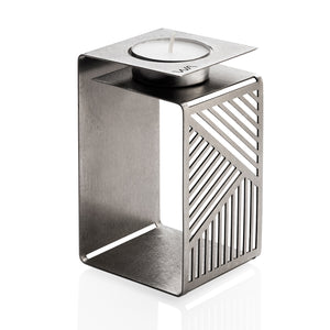 KARL - Metal Origami Urban Candle Holder