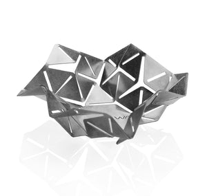 Origami inspired Sabbath tea light holder