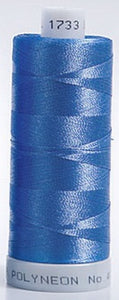 Polyneon Embroidery Thread Strip 1 (Navy/purple/Blue)
