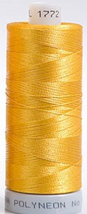 Polyneon Embroidery Thread Strip 2 (Gold/Yellow)