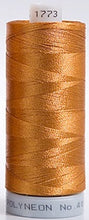 Load image into Gallery viewer, Polyneon Embroidery Thread Strip 10 (Brown/Peach)