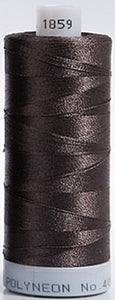 Polyneon Embroidery Thread Strip 11 (Brown)
