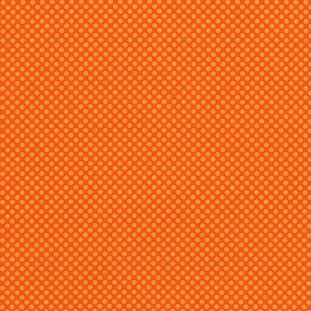Dots & Stripes -Dot Com - Orange Peel