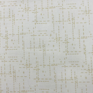 Stitched Cream Fabric