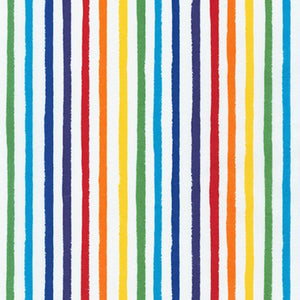 Dots & Stripes Delight- Rainbow