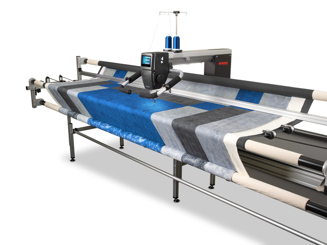 Q20 Long arm quilting machine on a frame