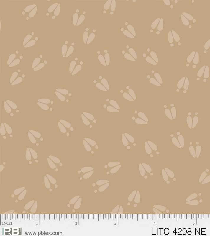 Little Critters -Hoof Print Tan