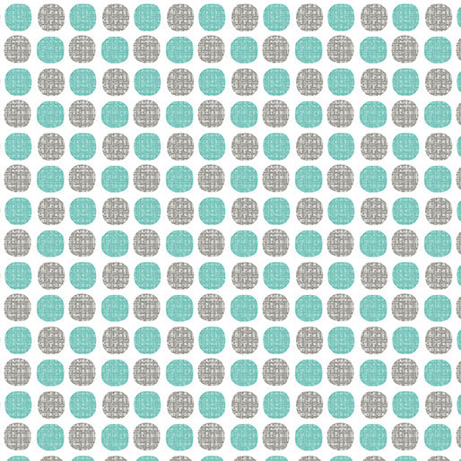 Choose to Shine Fabric- Wish Dot Turquoise