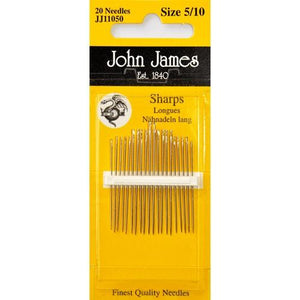 John James hand sewing needles