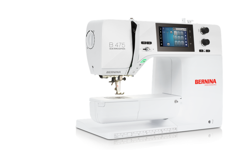 Bernina 475 Sewing Machine Quilters Edition