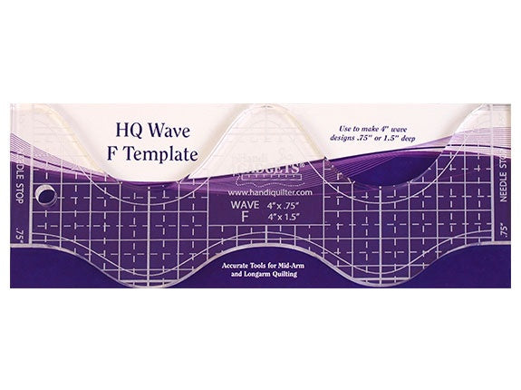Wave Quilting Ruler