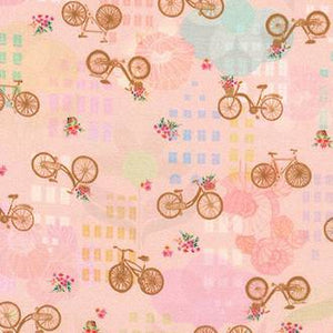 Wishwell Happy Places Fabric - Blush