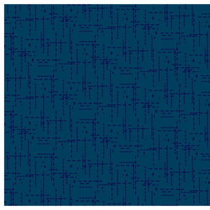 Stitched  Navy Fabric